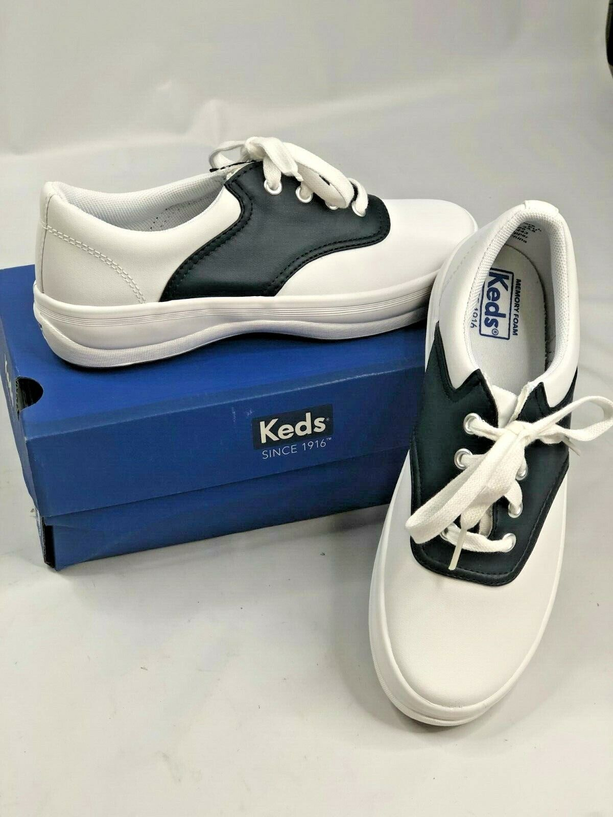 white Lace up Rubber Sole Sneaker Shoes