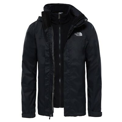 The North Face Evolve II Tri JKT Jacket Uomo T0CG55 JK3 TNF Black