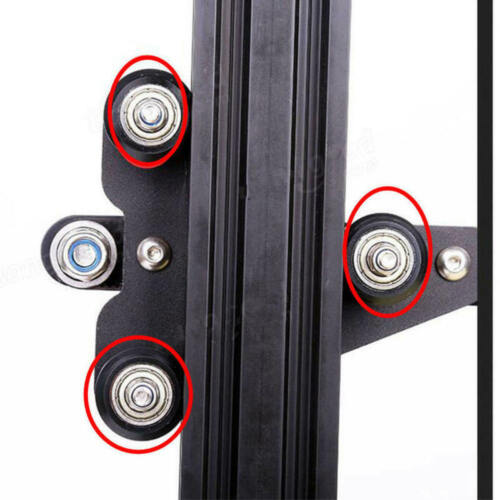 5pcs 3D Printer For CR-10S CR-10 Carbon Steel Wheel Pulley Bearing Roll MDB