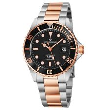 Revue Thommen Men's Diver Black Dial Stainless Steel Automatic Watch 17571.2157