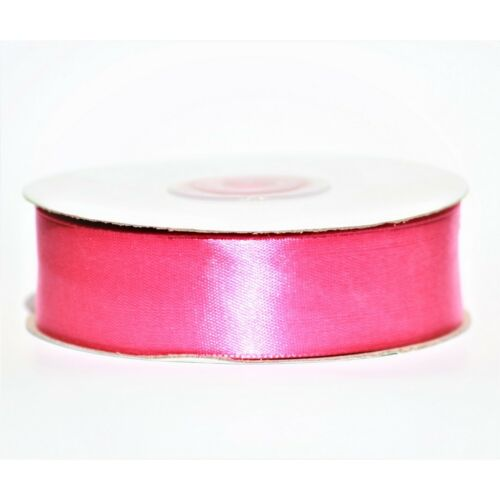 Satin Ribbon Double Sided Faced Premium Full Reel Roll 3mm 6mm 10mm 15mm 25mm
