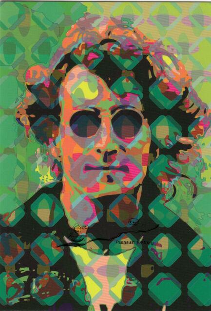 Kunst Doppeltkarte John Lennon Scott J Davis