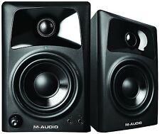 M-Audio*AV32+Warranty*10-Watt AV-32 Compact Studio Monitor Speakers with 3-inch