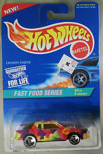 Hot Wheels 1:64 Scale 1995 Fast Food Series CRUNCH CHIEF (3 SPOKES)