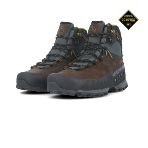 La Sportiva Homme TX 5 Gore-Tex Walking Boots Black Brown Sports Outdoors