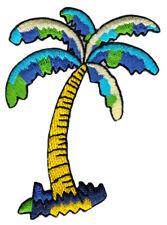 be95 Palme Baum Pflanze Aufnäher Patch Flicken Bügelbild 6,0 x 7,2 cm
