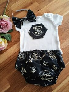 1727ed98899a Image is loading Harry-Potter-Baby-girls-Bloomer-Outfit-Set-6-