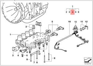 Bmw e39 transmission diagram wiring diagram database genuine bmw e39 e46 e53 z3 at transmission solenoid valve tcc oem rh ebay com 2012 328i f30 transmission leak diagram bmw e39 transmission wiring diagram asfbconference2016 Images