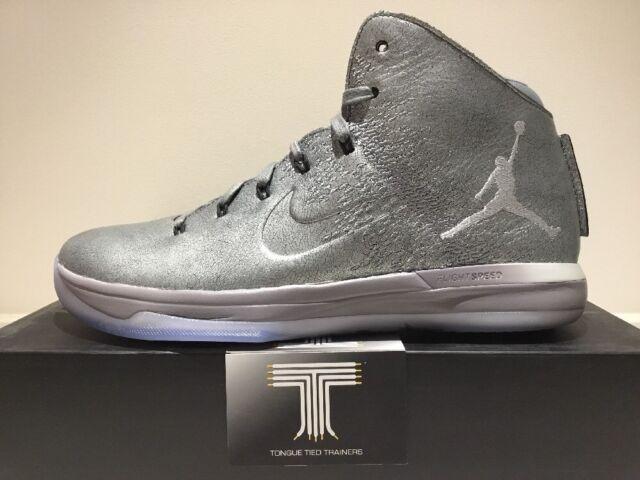 "size 40 74832 5e6eb Nike Air Jordan XXXI 31 Premium ""Battle Grey"" ~ 914293 013 ~ Uk Size 9"