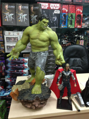 """Super GIANT SIZE MARVEL THE HULK GREEN GIANT FIGURE STATUE 23/"""" 1//4 Scale"""