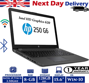 HP-250-G6-15-6-034-Laptop-Intel-7th-Gen-i5-2-5Ghz-8GB-RAM-128GB-SSD-Windows-10