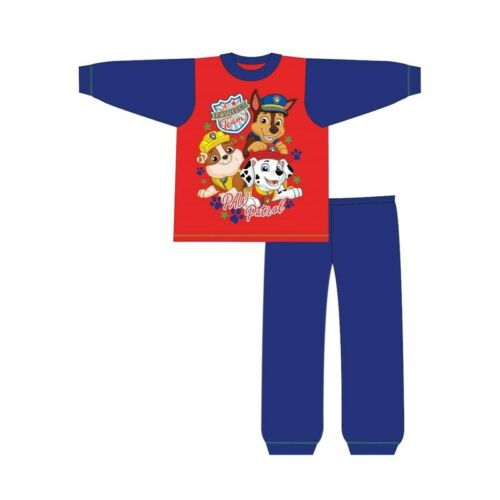 Boys Kids Paw Patrol Pyjamas PJs Nightwear 100/% Cotton Long Sleeve