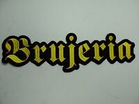 Brujeria Embroidered Back Patch