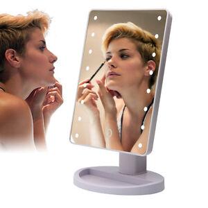 10 fach 16 leds kosmetikspiegel mit beleuchtung schmink. Black Bedroom Furniture Sets. Home Design Ideas