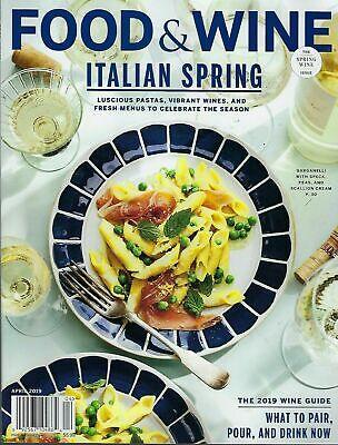 Food Wine Italian Spring April 2019 No Address Label Bon Appetit New F2020w Ebay