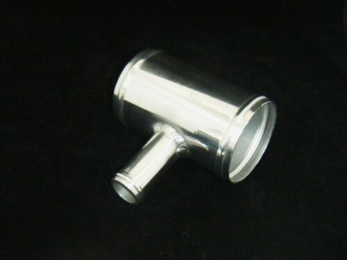 Aluminium T Piece for 25mm Dump Valve Fitting Swagged Ends Choice of Diameter