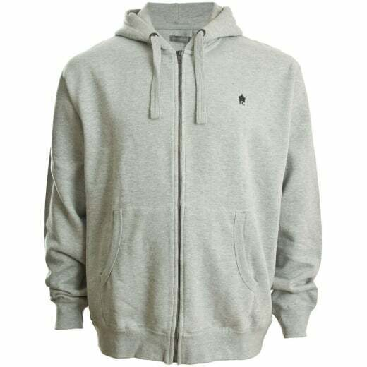 FRENCH CONNECTION 57KDA ZIP HOODIE MARINE