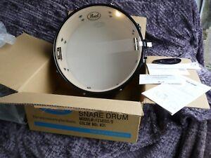 pearl forum protone snare drum fz1455s b color 31 jet black nip w manual ebay. Black Bedroom Furniture Sets. Home Design Ideas