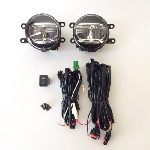 Fog Driving Light Kit Built-in LED For 2010-2016 Lexus RX350 RX450h with Wiring
