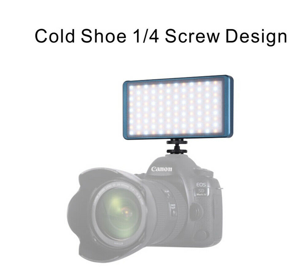 Falcon Eyes F7 II 12W Pocket RGB LED Light On Camera Portable For Video Studio