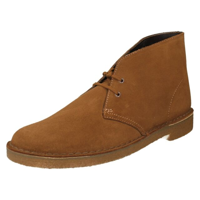 d51fc8459e6 Clarks Originals Desert Boot Mens Suede Leather BOOTS Tan UK 12 - EU 47