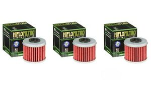 Honda CRF250R HiFlo Oil Filter HF116 CRF250 CRF 250R 250 Pack of 4