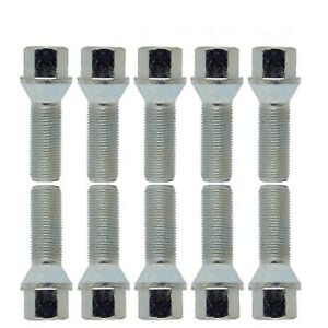 10-Extended-Wheel-Bolt-tapered-M12x1-5-42mm-for-Alfa-Romeo-BMW