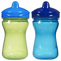 Playtex 9oz 2ct Toddler Plastic Baby Spill Proof Sippy Spout Cup Color May Vary on sale