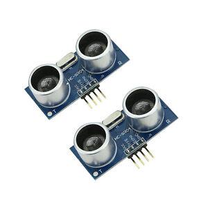 2PCS-Ultraschallmodul-HC-SR04-Abstandsmessaufnehmersensor-fuer-Arduino