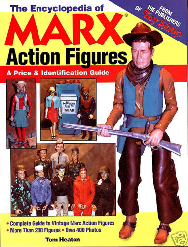 Encyclopedia of Marx Action Figures Guide Author Signed  Fresh mint Copy  OOP