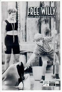 FREE WILLY RUF DER FREIHEIT / NFP 9757 Wien /J.J. Richter, L. Petty, J. Atkinson - Wien, Österreich - FREE WILLY RUF DER FREIHEIT / NFP 9757 Wien /J.J. Richter, L. Petty, J. Atkinson - Wien, Österreich