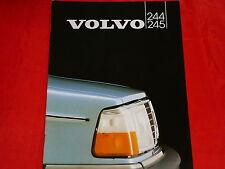 VOLVO 244 GL Turbo GLE 245 GL D6 Prospekt von 1982