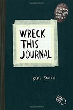 Wreck This Journal, Black, Expanded Ed., 2012 Paperback, New, Free Shipping