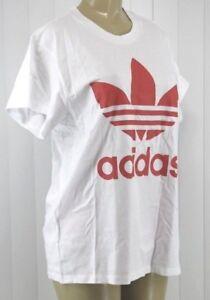 Nwt shirt Xs Ad52 Turbo Originals Trefoil Big Taille Blanc Tee Adidas 1ZBC7q