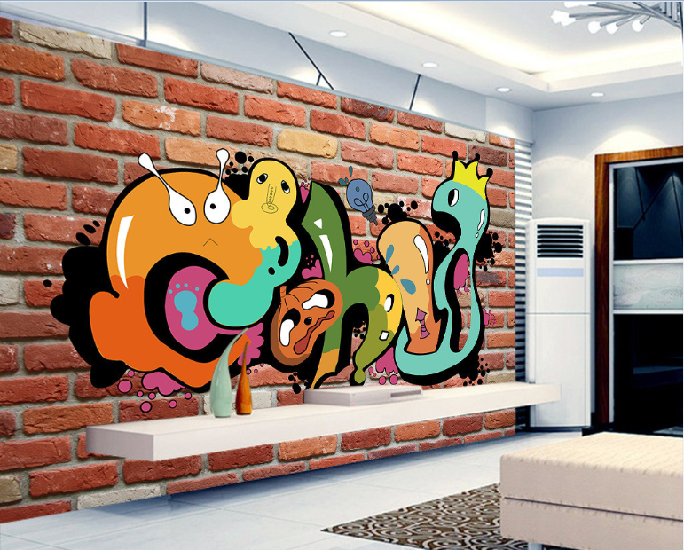 3D Cartoon Anime Painting 28 Paper Wall Print Wall Decal Wall Deco Indoor Murals