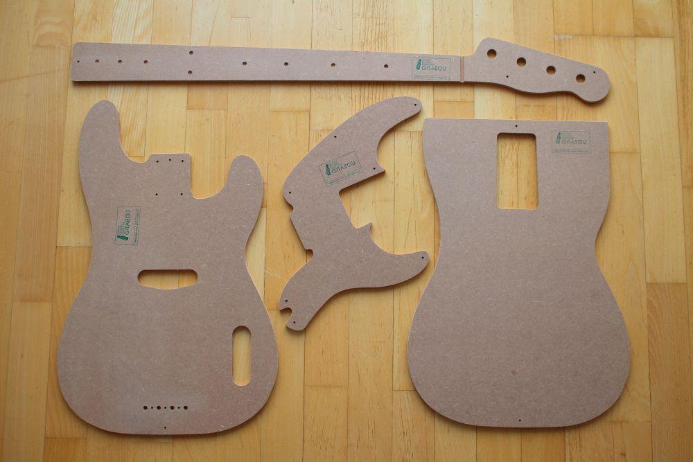 miglior prezzo 1951 preci Bass Stencil templates ad esempio Fender Precision riparazione riparazione riparazione F. Tonholz  sconto prezzo basso