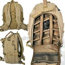Retro DSLR Camera Bag Canvas Travel Backpack Handbag Knapsack Packsack Rucksack