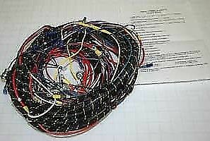 details about chevrolet chevy gmc truck wiring harness pvc coated 1940 1946 1971 GMC Truck Wiring Harness