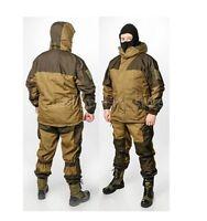 Winter Gorka 3 Fleece Bars Russian Mountain Force Warm Water-repellent Suit Camo