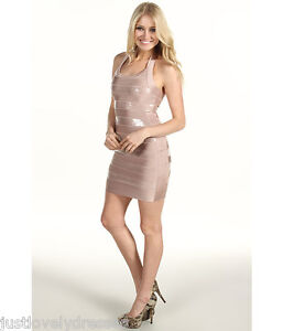 French Connection Bandage Bodycon Stretch Party Dress 8