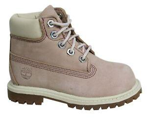 Timberland-Earthkeepers-15-2cm-Cordones-Premium-Rosa-Bebes-Botas-34892-D72