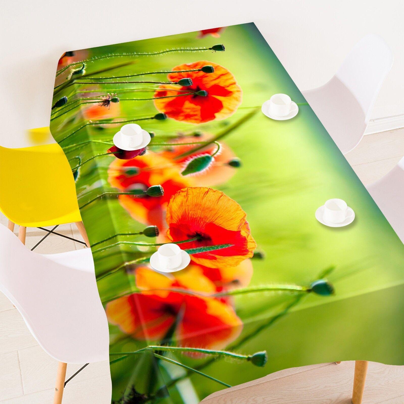 3D Farm Flowers 124 Tablecloth Table Cover Cloth Birthday Party Event AJ Summer