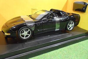 CHEVROLET-CORVETTE-COUPE-2003-1-18-AMERICAN-MUSCLE-ERTL-36833-voiture-miniature