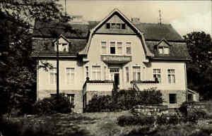 Schmoelln-AK-1966-DDR-FDGB-Erholungsheim-Neuschmoelln-Sanatorium-Heim-Gebaeude-Haus