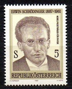 "Austria - 1987 Erwin Schrödinger Mi. 1892 MNH - Enschede, Nederland - EBay Austria - 1987 Erwin Schrödinger Mi. 1892 MNH Click the button below to view more Austria lots from our extensive offerings. After clicking select ""Austria"" in the blue side-bar on the left. Our lots start at just €0,25 Combi - Enschede, Nederland"
