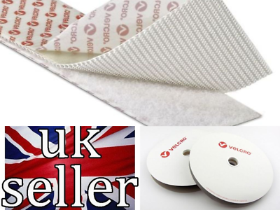 VELCRO PS51//PS521 Heavy-Duty self adhesive tape 50mm wide x 50mm x 200mm length