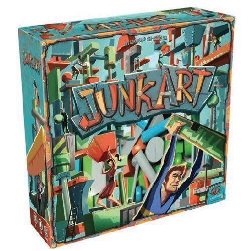 Junk Art - Plastic Edition [Board Game, Pretzel Games, Asmodee, Plastic] NEW