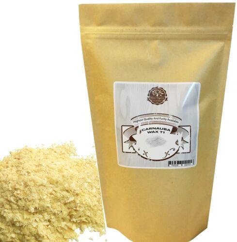 T1 Organic Carnauba Wax 2 LB by Oslove Organics