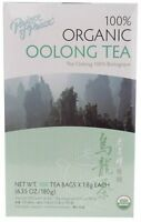 Prince Of Peace Organic Oolong Tea - 100 Tea Bags (pack Of 3), New, Free Shippin