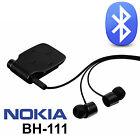 Genuine Nokia Bh-111 Black Wireless Bluetooth Headset for iPhone 5 5s 6 6s